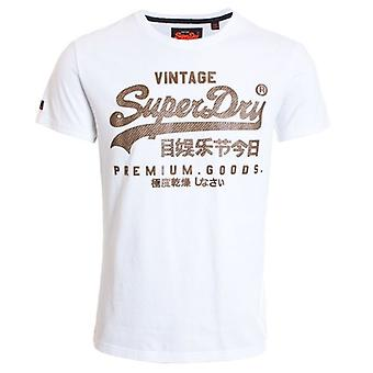 Superdry Vintage Logo Authentic Mid Weight T-shirt Optique