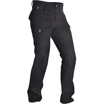 Oxford Black SP-J4 Short Cargo Motorcycle Jeans