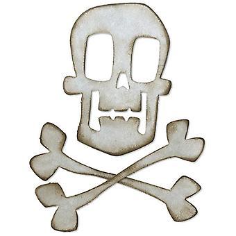 Sizzix Bigz Die Skull & Crossbones by Tim Holtz