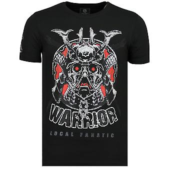 Savage Samurai-Brand T shirt men-6327Z-Black