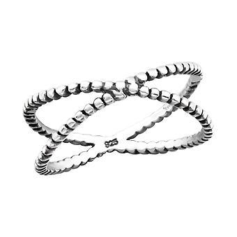 Cross - 925 Sterling Silver Plain Rings - W27614X
