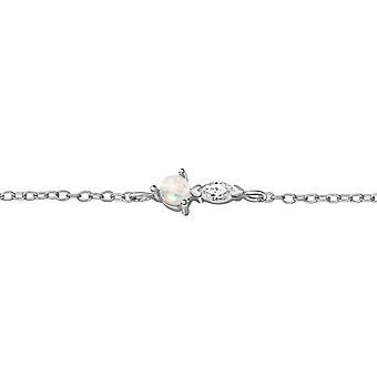Geometric - 925 Sterling Silver Chain Bracelets - W39260X
