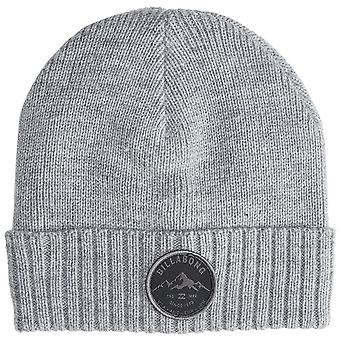 Billabong Knitted Cuff Beanie ~ Ridge Polar grey