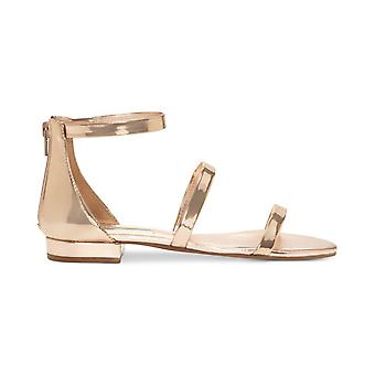 INC International Concepts Womens Yessenia Fabric Open Toe Casual Ankle Strap...