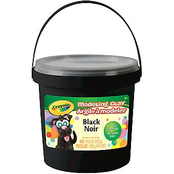 Crayola Modeling Clay Bucket 15oz-Black 57-13-51