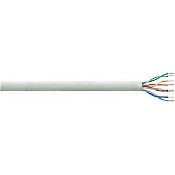 Network cable CAT 5e U/UTP 4 x 2 x 0.205 mm² Grey LogiLink CPV0020 305 m