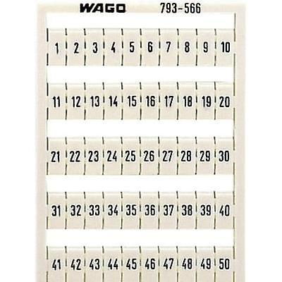 WAGO 793-5506 WMB-identification Cards Compatible with (details): WAGO through terms/clamps Series 2002 - 2016
