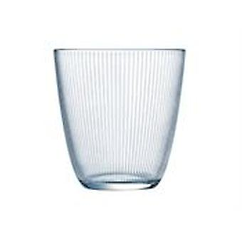 Luminarc 6 Glasses 31 Cl Stripy Clear