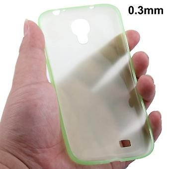 TPU cover ultra thin 0.3 mm for Samsung Galaxy S 4 i9500 (green)