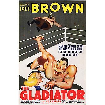 طباعة ملصق فيلم المصارع (27 × 40)