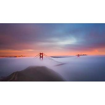 Just Another Day in the Bay Poster Print by Toby Harriman Visuals