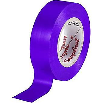 Electrical tape Coroplast Violet (L x W) 25 m x 19 mm Acrylic Content: 1 Rolls