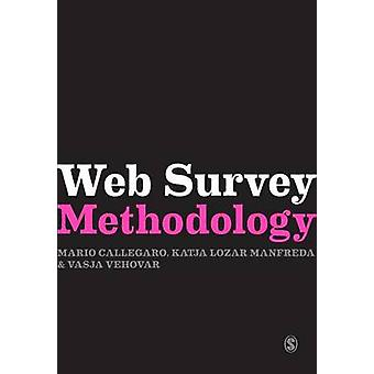 Web Survey Methodology by Callegaro & Mario