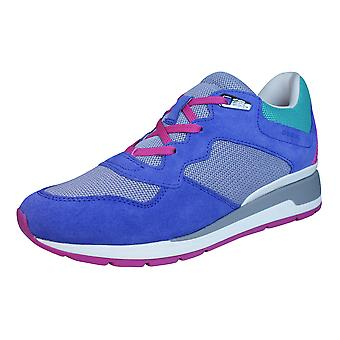 Geox D Shahira B Womens Trainers / Shoes - Purple