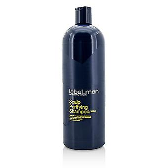Label.M Men's Scalp Purifying Shampoo (Strengthens and Builds Thickness, Leaving Scalp Toned and Refreshed, Clean Healthy Results) 1000ml/33.8oz