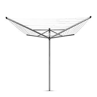 Brabantia Lift-O-Matic Rotary Dryer 50m in Metallic Grey
