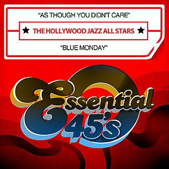 Hollywood Jazz All Stars - As Though You Didn't Care / Blue Monday USA import