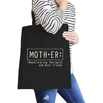 Mother Therapist And Canvas Eco Bag Mothers Day Gift From Daughters
