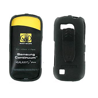 Body Glove - Snap On Case for Samsung Continuum SCH-i400 (Galaxy S) - Black