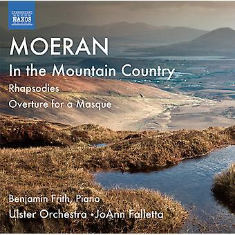 Moeran - Moeran: In the Mountain Country; Rhapsodies; Overture for a Masque [CD] USA import