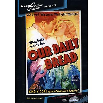 Our Daily Bread (1934) [DVD] USA import