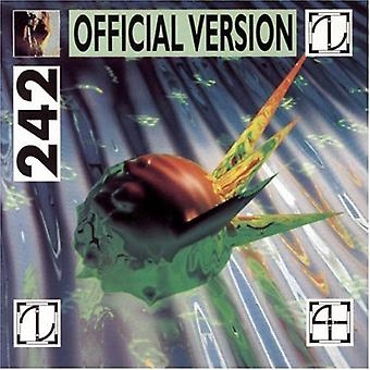 Front 242 - Official Version [CD] USA import