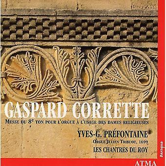 G. Corrette - Gaspard Corrette: Messe Du 8E importazione USA Ton Pour l'orgue l'usage Des Dames Religieuses [CD]