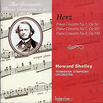 Herz - het romantisch pianoconcert, Vol. 35: Herz: Piano Concertos Nos. 1, 7 & 8 [CD] USA import