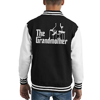 The Godfather The Godmother Kid's Varsity Jacket
