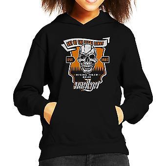 Tiger stigende Street Fighter Kid er hætte Sweatshirt