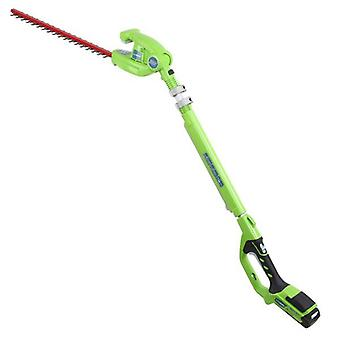 Greenworks G24PH51 24V Long Reach Cordless Hedge Strimmer (Tool Only)