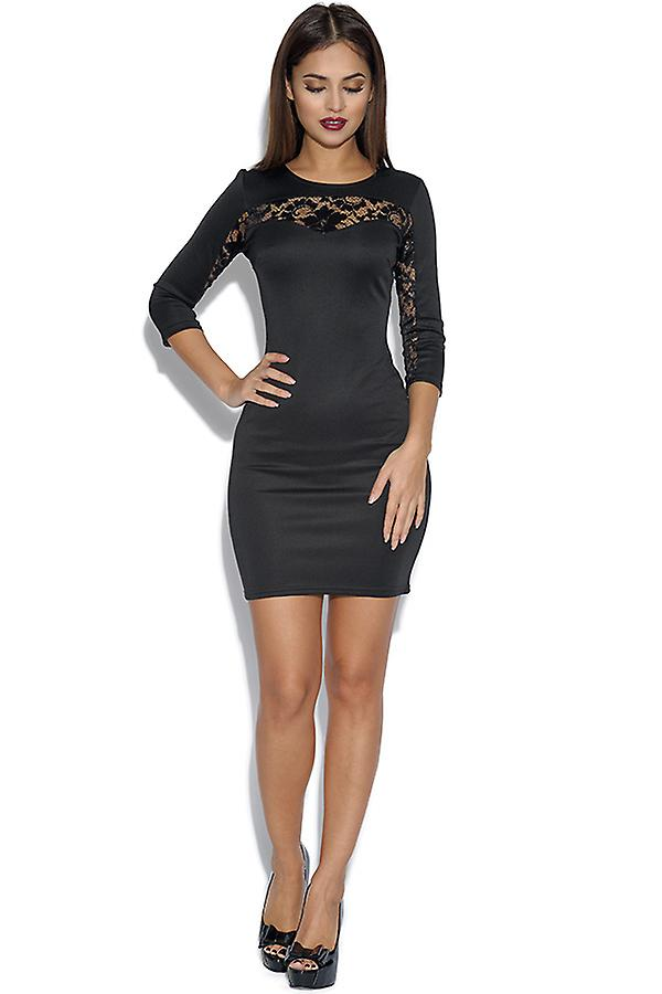 Lace Detail Bodycon jurk
