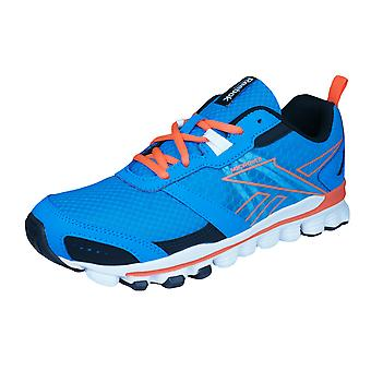 Reebok Hexaffect Run Boys Running Trainers / Shoes - Light Blue