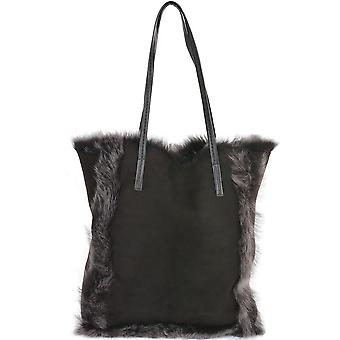 Ashwood Toscana Sheepskin Leather Bag : Brown/brissa : Avian