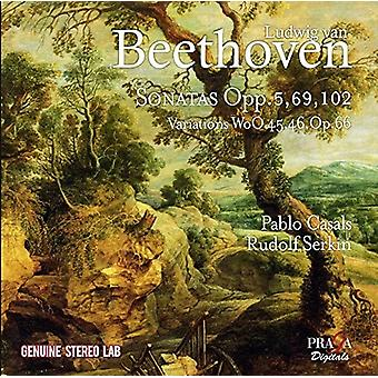 Beethoven / Casals, Pablo - Beethoven / Casals, Pablo: værker for Cello & Piano [CD] USA import