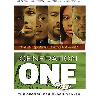 Generation One: Search for Black Wealth [DVD] USA import