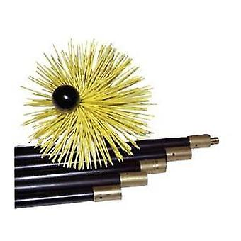 OkFuego Mechanical Deshollinador Kit Nylon 5 Reeds + Hedgehog 50254