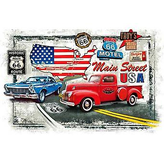 Piatnik Old Route 66 Jigsaw Puzzle (1000 Pieces)