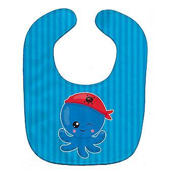 Carolines Schätze BB8913BIB nautische Pirate Octopus Baby Lätzchen