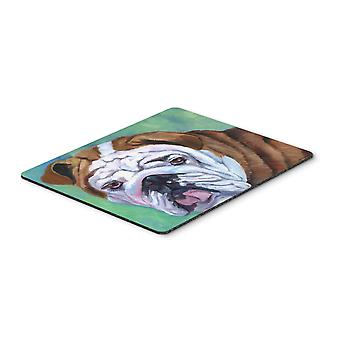Admiral the English Bulldog Mouse Pad, Hot Pad or Trivet