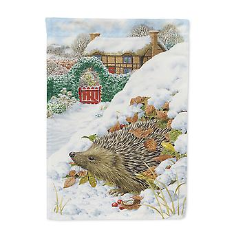 Carolines Treasures  ASA2158GF Hedgehog Holiday Flag Garden Size