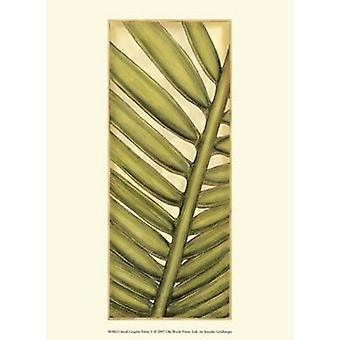 Small Graphic Palms V Poster Print by Jennifer Goldberger (10 x 13)