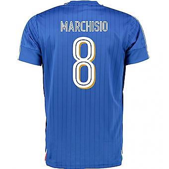 2016-2017 Italia Puma hjem skjorte (Marchisio 8) - barn