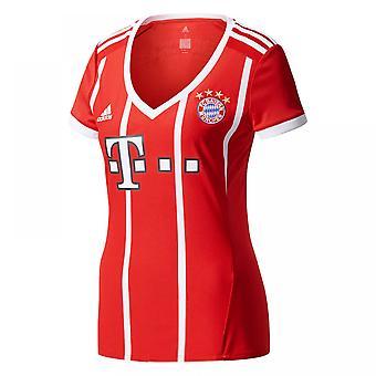 2017-2018 Bayern Munich Adidas Home Womens Shirt