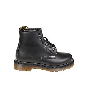 Dr. Martens women's 10064001 black leather ankle boots