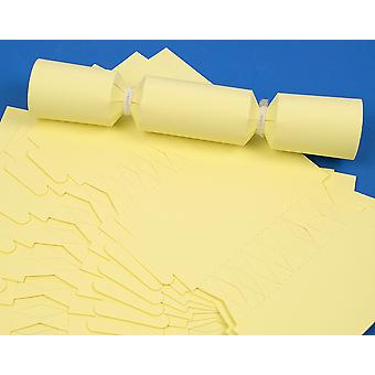 12 MINI Pale Pastel Yellow Make & Fill Your Own Cracker Boards