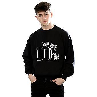 Disney Men's 101 Dalmatians 101 Doggies Sweatshirt