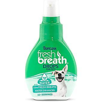 قطرات التنفس تروبيكلين جديدة للحيوانات الأليفة
