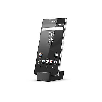Genuine Sony Micro USB Desktop Charging Dock DK52 for Sony Xperia Z3+ / Z4 / Z5 / Z5 Compact / Z5 Premium - Black (Bulk Packed - Frustration Free Packaging)