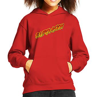 Eurovision Baywatch Logo Kid's Hooded Sweatshirt